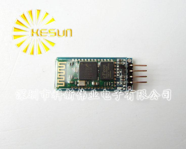 БЕСПЛАТНАЯ ДОСТАВКА HC-06 HC06 JY-MCU 4pin Bluetooth модуль Bluetooth модуль последовательной сквозной беспроводной последовательной связи