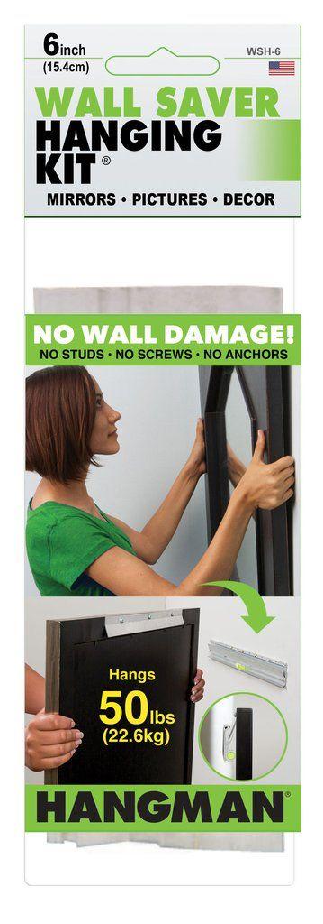 Apartment Hanger / Wall Saver Hanger