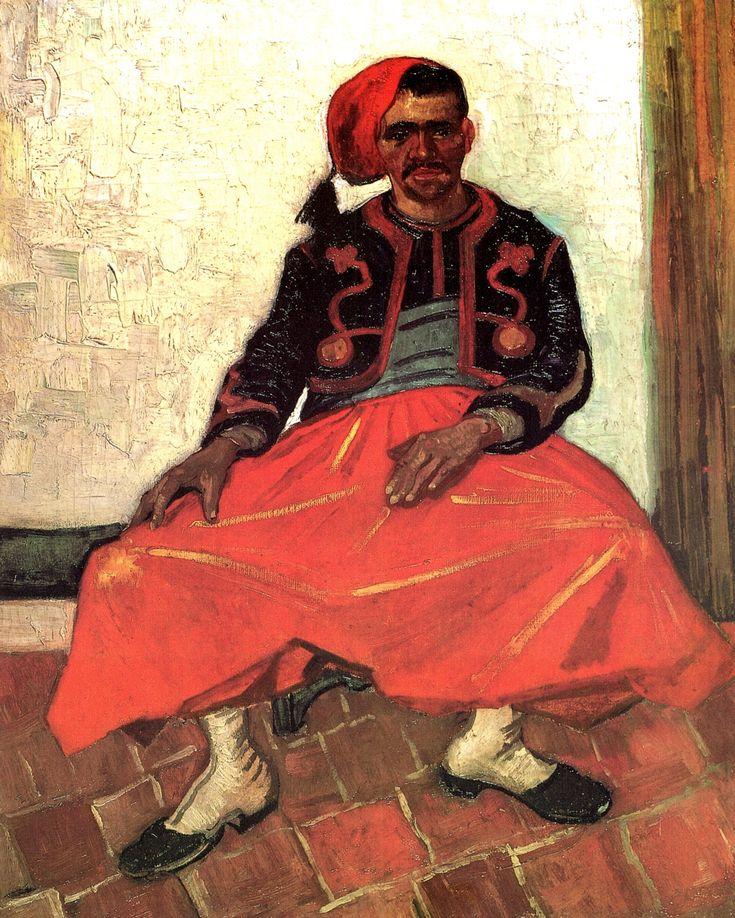 Zouave - Vincent van Gogh - WikiArt.