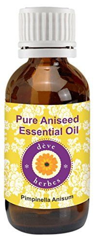 Pure Aniseed Essential Oil 30ml - Pimpinella Anisum >>> More details @