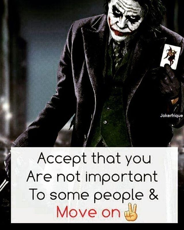 Just Trying To Moveon Life Quotes By Joker Joker Quotes Quotes