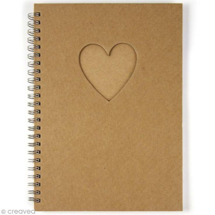 Compra nuestros productos a precios mini Cuaderno con ventana Corazón - Entrega rápida, gratuita a partir de 89 € !