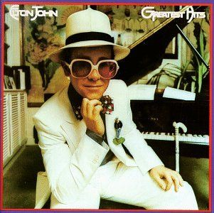 """""""Elton John - Greatest Hits is a magnificent  album. """"  http://www.amazon.com/gp/offer-listing/B000001DVP/ref=dp_olp_collectible_mbc?ie=UTF8&condition=collectible&m=A3030B7KEKNTF7&qid=1394487335&sr=1-171"""