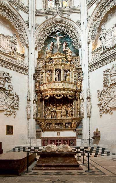 Burgos Cathedral, with the tomb of El Cid and his wife Doña Jimena, is intimately linked to the history of the Reconquista and Spanish unity. https://www.pilgrim-info.com/listing/burgos-cathedral/