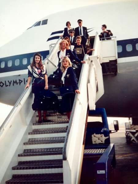 Olympic Airways Staff Greece