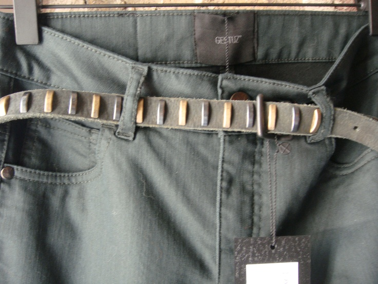 Ponk Jeans: €33.35   Colour: Dark Green  & Lala Belt €23.30  Sample Sale: Central Hotel, Dublin 2  When: March 22nd & 23rd   http://www.samplesale.ie/