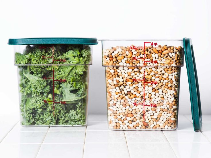 Cambros: The Restaurant Essential that Beats All Other Food-Storage Solutions | These chunky little containers are, hands down, the very best way to store large amounts of food at home.