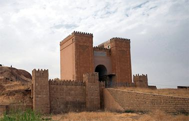 Nineveh is an abandoned Assyrian city on the eastern bank of the Tigris River, and capital of the Neo-Assyrian Empire.It was settled as early as 6000 BC. It was the largest city in the world. Its ruins are across the Tigris river from the city of Mosul.