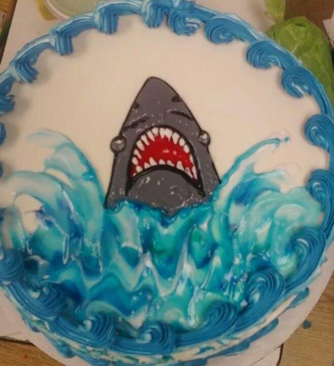 Dairy Queen Log Cake Designs : Dairy Queen Cake shark My Dairy Queen Cakes Pinterest ...