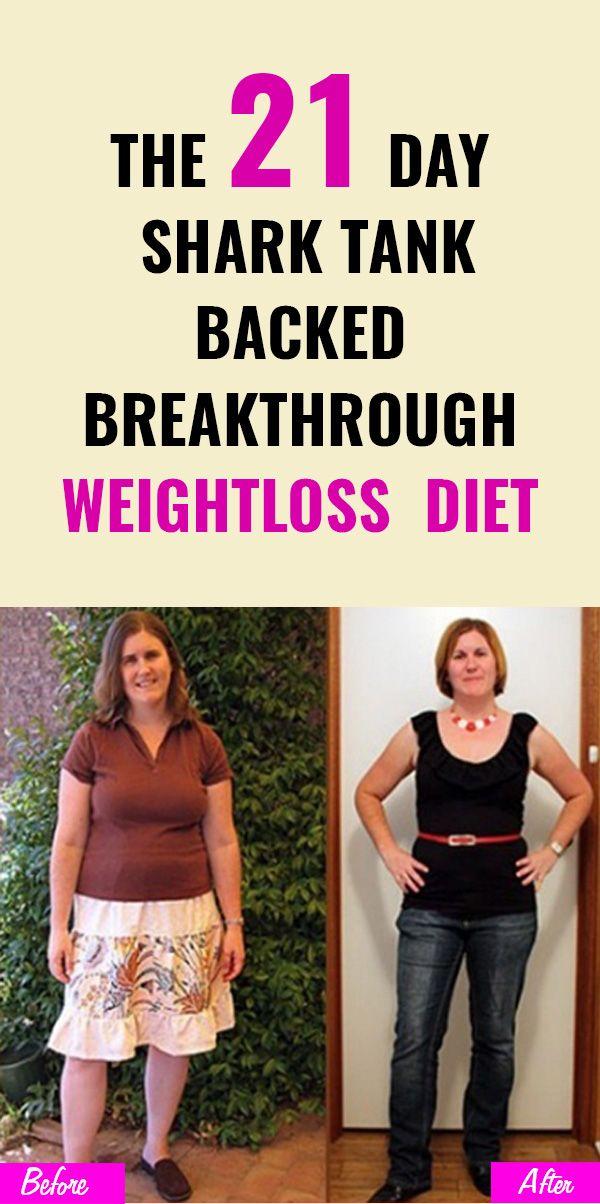 The 21 Day Shark Tank Backed Breakthrough Weightloss Diet