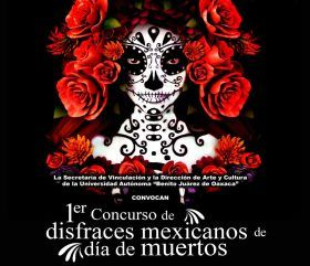 Invitan a la segunda 'Muerteada' en la UABJO este 26 de octubre