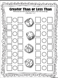 Classroom Freebies: Dice Games