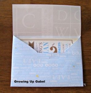 How To Make An Envelope from Growing Up Gabel