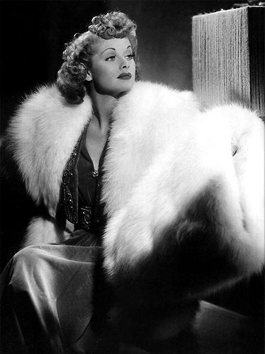 1930′s Fashion - Lucille Ball FAB! This had to go in the Soul Candy section. : )