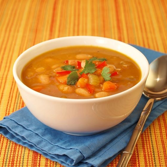 Peruvian Bean Soup - I haven't cooked with this bean before - going to give it a try in this soup weather.