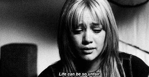 GifsLândia   via Tumblr #quotes -  #Hilary Duff,  #a cinderella story  a nova cinderela