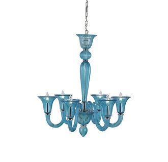 82 best BLUE chandeliers images on Pinterest | Blue chandelier ...