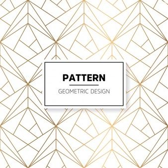 Patrón brilloso con formas geométricas