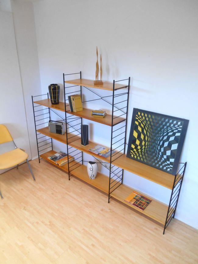 oltre 1000 idee su b cherregal wand su pinterest. Black Bedroom Furniture Sets. Home Design Ideas