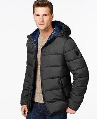 MICHAEL Michael Kors Down Packable Jacket - Coats & Jackets - Men - Macy's