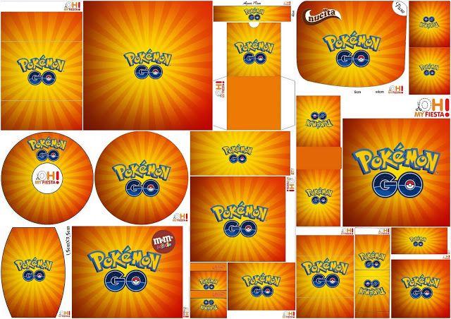 Pokemon Go: Etiquetas para Candy Bar para Imprimir Gratis.