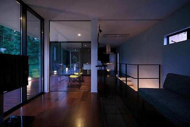 内覧可 眺望の家Ⅱ緑の眺望を引き込んだ山荘のような家(カフェ・借景のある家) | 大阪の不動産、注文住宅なら富国ハウジング&KADeL