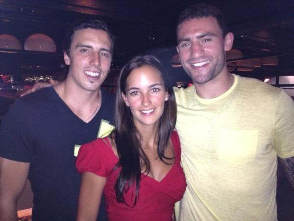 Marc-Andre Fleury, Veronique Fleury & Paul Bissonnette ...