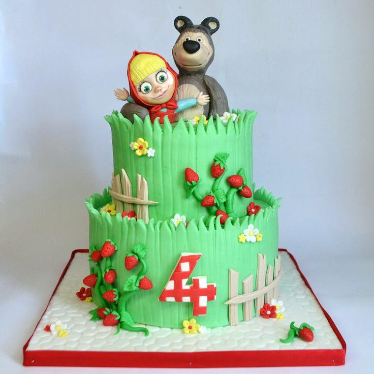 11 best Masha e Orso Cake Design images on Pinterest Cake designs