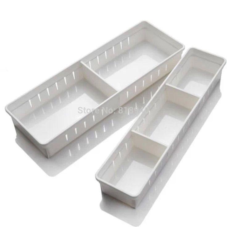 1 x plastic opbergdoos keuken lade bestek organizer unit case clear/wit 048 3032 in  Dingen die je moet weten:  Dit artikel is voor een doos.  Materiaal: plasticKleur: zoals getoond in d van Opbergdozen& bakken op AliExpress.com | Alibaba Groep