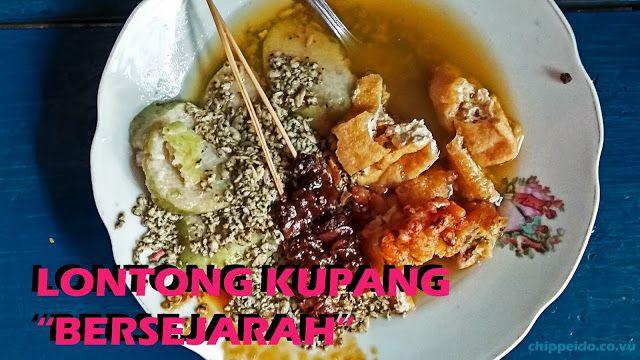 Lontong Kupang Bersejarah Di Pasuruan Culinary Food Kupang