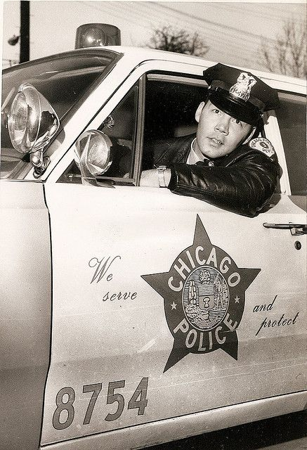 * 1967 ~ Chicago Police Officer travels 217 miles between work & school [read story below & where he is now... further down].