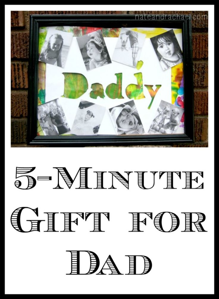 Turn your child's artwork into an awesome (and easy) gift for dad!