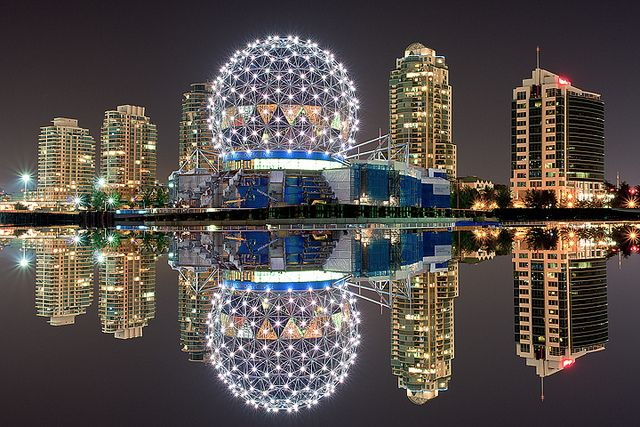 #Vancouver - #BC Canada by Kevin Mcneal ... I live in the building on the far right!