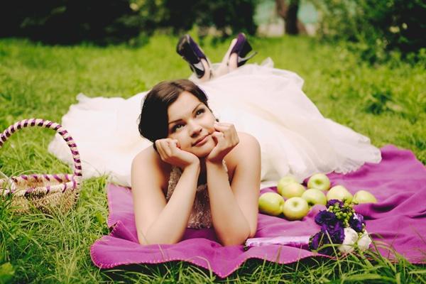 свадьба в фиолетовых тонах #purple #wedding #summer #bride