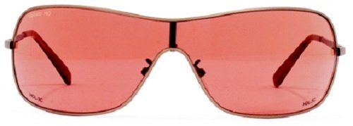 VedaloHD 8027 Lucca Bronze Plastic Frame Copper-Rose Lens Sunglasses. FRAME: Bronze Plastic Frame. LENS: SolarMax Copper-Rose Lens. High strength Italian styled plastic frameware. Fully integrated, wrap-around frame with rugged piano-style hinges. Super-wide temples for wind protection.