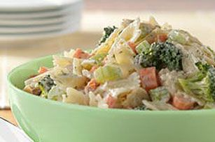 Summertime Tuna Pasta Salad recipe. I'm off to the store to buy ingredients. This will be for a football party tomorrow!