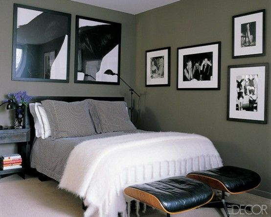 ELEMENTS OF A MASCULINE BEDROOM
