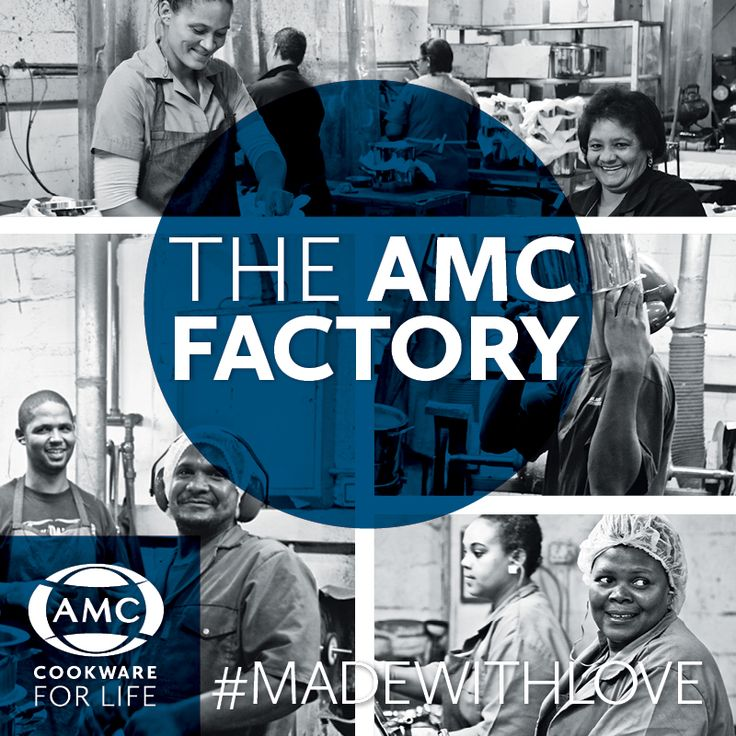 Our cookware is manufactured at the AMC factory in Atlantis in the Western Cape.  The artisanal nature of our process ensures that every unit is taken through manufacturing, from first step to final product, by hand. Our process involves painstakingly crafting every detail to produce unrivaled quality.   Over the next 2 weeks we'll be posting a brief breakdown of what it takes to make your AMC Cookware.