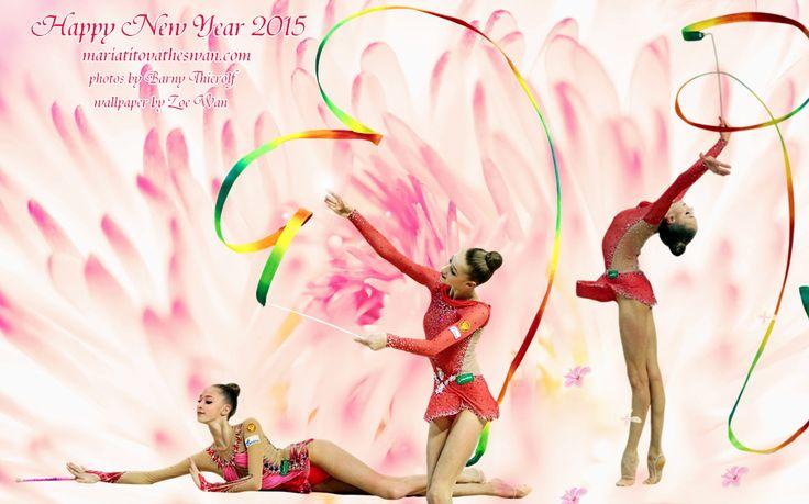 Maria Titova the Swan-Wall-Happy New Year 2015