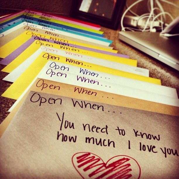 Reminds me of the book Letterbox, creating letters for your child…a cherished