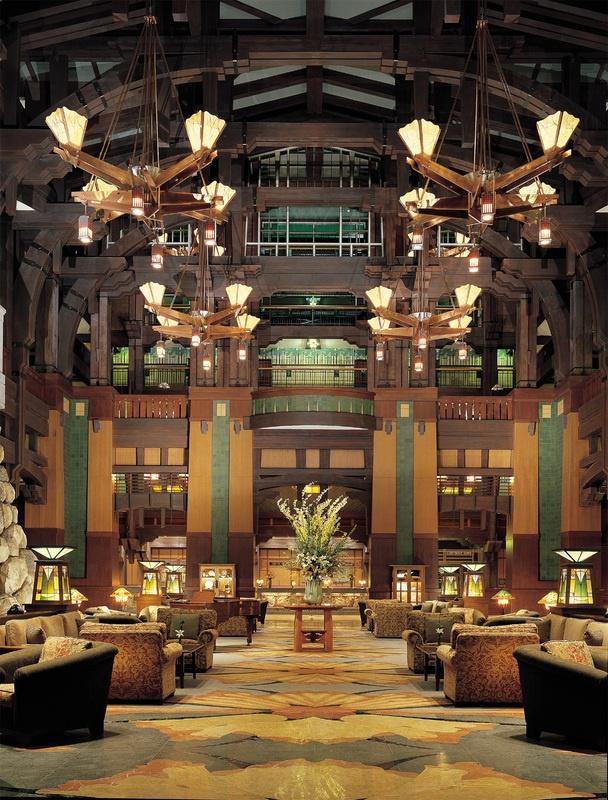 enjoy american craftsman style and elegance at disneys grand californian hotel spa at the disneyland resort