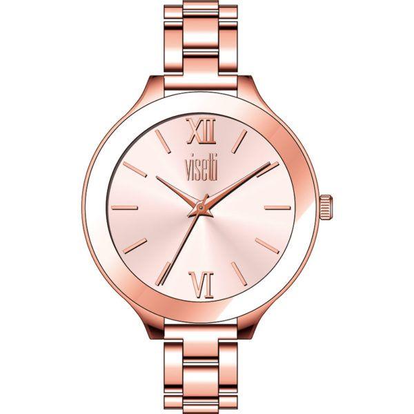 Ρολόι Visetti  Classy series  rose gold Steel Bracelet  PE-987RR