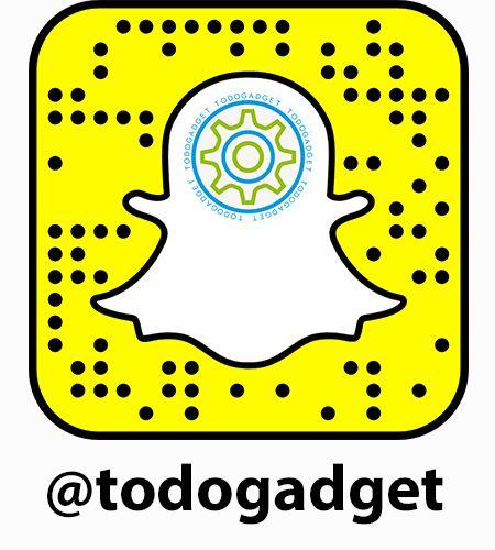 ¿Tienes una cuenta de Snapchat y todavía no somos amigos? Escanea nuestro Snapcode o agrega nuestro nombre de usuario @todogadget #Snapme #Snapchat #snapcode #SegundaMano #ComprasOnline #Ventasonline #Mercadillo #Gadgets