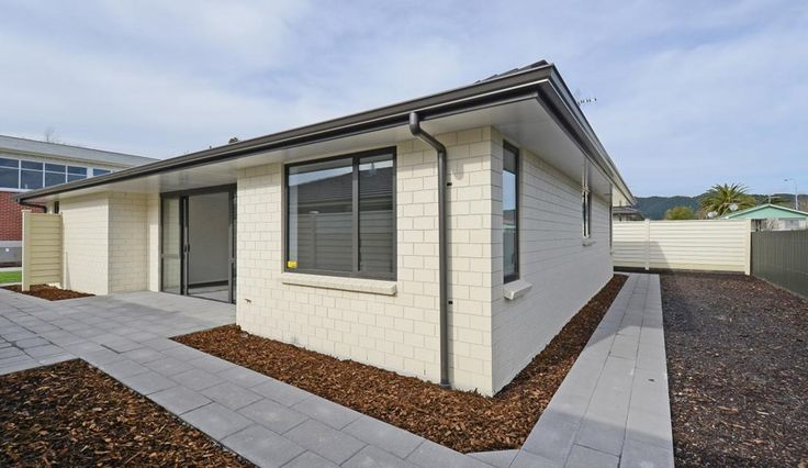 This home, built for the over-50s, is designed to suit a range of people as they age. The homes in Upper Hutt, NZ, were created by the Dugdale Trust. Accessible universal design house.