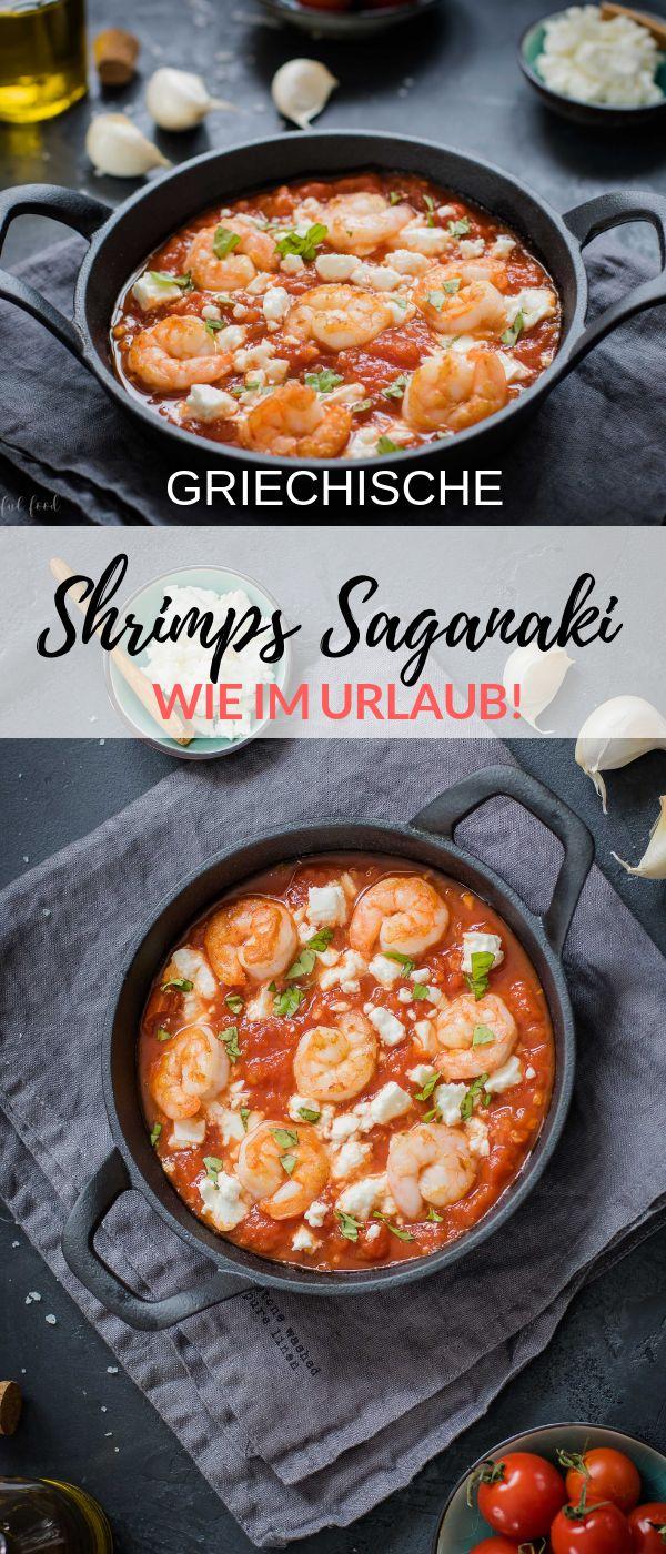 Ad – Ein griechisches Rezept für wirklich leckere Shrimps Saganaki. Das ist …   – Joyful Food – Alle Rezepte