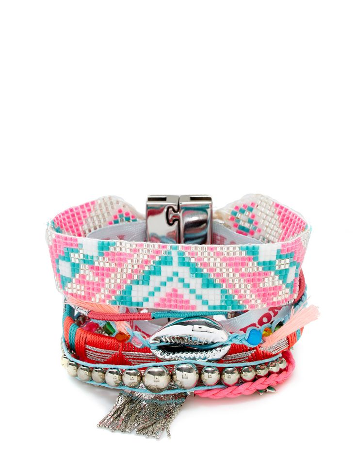 Hipanema's Brazilian bracelets are super-saturated rainbows to clasp onto your wrists. The brainchild of a pair of Parisian friends who wanted the souvenirs of their vacation in Brazil to last a lifetime, Hipanema's magnetized friendship bracelets are made of vibrant thread, seashells, beads and pearls. To go all-boho, pair your Hipanema jewelry with a Hipanema bikini or swimsuit, bringing a little French je ne sais quoi to the sparkling sands of Rio.