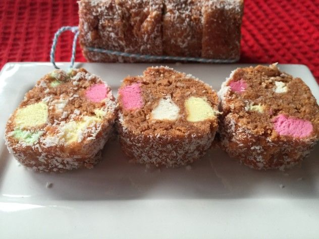 Vegan lolly cake