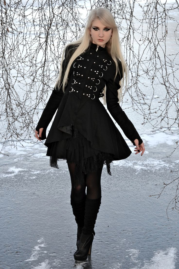 """I would feel like I was in the black parade wearing this <3 """"On Ice - Stock by MariaAmanda.deviantart.com on @deviantART"""""""