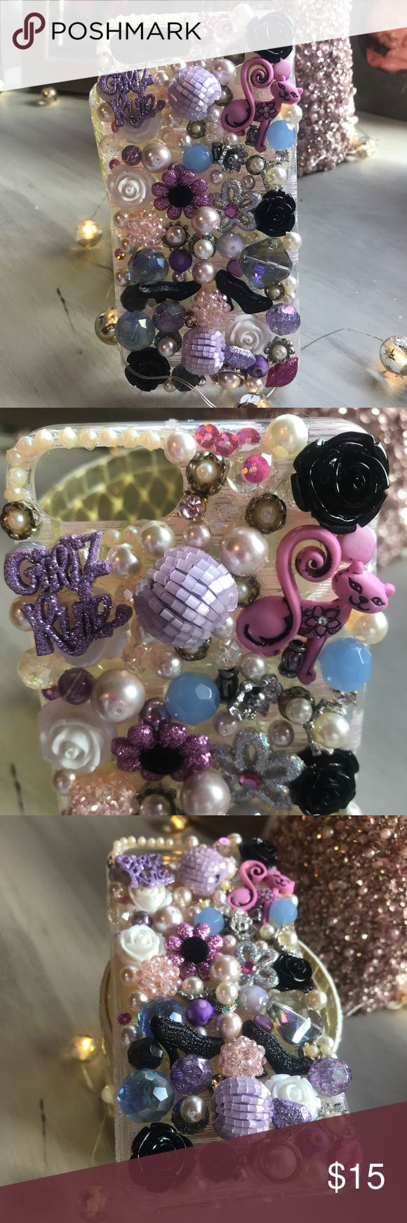 Galaxy 7 S cover Super embellished phone case, fun and definitely a conversation starter! Accessories Phone Cases