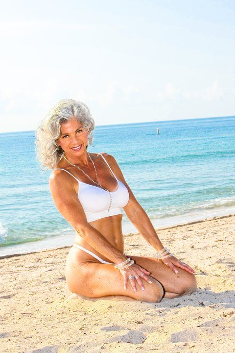 Hot fit mature women